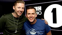 Image for Thursday: Professor Green drops in
