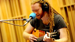Image for Wednesday: Newton Faulkner is in Live Lounge