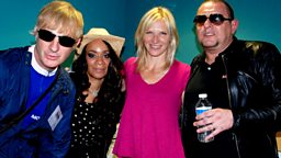 Image for Jo chats to Shaun Ryder, Rowetta Idah and Gaz Whelan about Happy Mondays