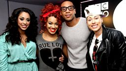 Image for Stooshe in live and Florence & The Machine on the phone!