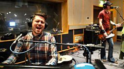 Image for Thursday: Scouting For Girls in the Live Lounge
