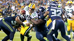Image for Greenbay Packers at Seattle Seahawks