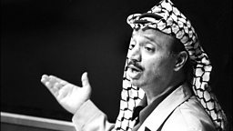 Image for Arafat goes to the United Nations