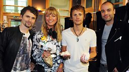 Image for Friday: Sara Cox sits in for Fearne with Muse