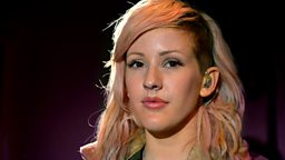 Image for Tuesday: Ellie Goulding in the Live Lounge