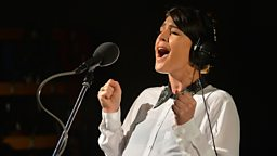 Image for Thursday: Jessie Ware in the Live Lounge