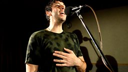 Image for Tuesday: Example in the Live Lounge