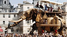 Image for Street Theatre and a Giant Elephant