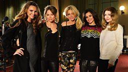 Image for Girls Aloud in the Live Lounge