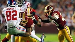 Image for New York Giants at Washinton Redskins