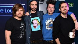 Image for Monday: Bastille in the Live Lounge