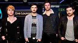 Image for Wednesday: Kodaline in the Live Lounge