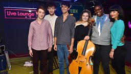 Image for Thursday: Clean Bandit in the Live Lounge