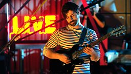 Image for Foals in session for Lauren Laverne
