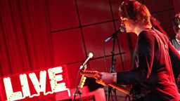 Image for Palma Violets in session for Lauren Laverne