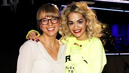 Image for Rita Ora in the Live Lounge