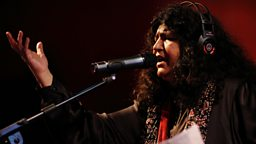 Image for Sufi queen Abida Parveen talks about her career