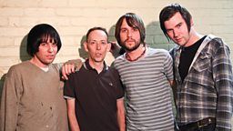 Image for The Cribs in session for Steve Lamacq