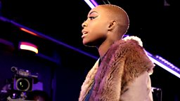 Image for Wednesday: Laura Mvula in the Live Lounge