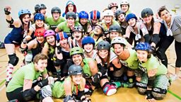 Image for Being followed; Roller Derby; Human Rights Watch Film Festival