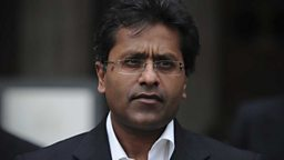 Image for Chairman, Indian Cricket Premier League, 2008 – 2010 - Lalit Modi