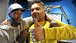 Image for Naughty Boy live in the studio!