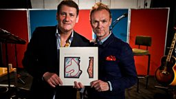 Image for Gary Kemp and Tony Hadley of Spandau Ballet (B-Side)