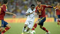 Image for Nigeria v Spain