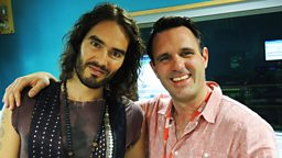 Image for Russell Brand drops by