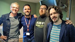 Image for With Simon Pegg, Nick Frost and Edgar Wright
