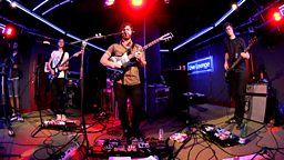 Image for Wednesday: Foals in the Live Lounge