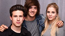 Image for Huw Stephens with London Grammar session
