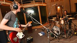 Image for Huw has Drenge in session at Maida Vale