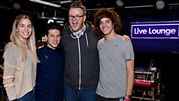 Image for London Grammar in the Live Lounge
