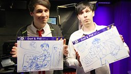Image for Dan and Phil Go Back To School
