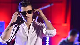 Image for Arctic Monkeys tear up the Live Lounge