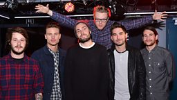 Image for You Me At Six in the Live Lounge