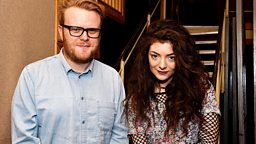 Image for Lorde in session
