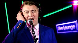 Image for Sam Smith in the Live Lounge