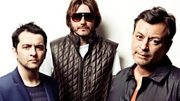 Image for Manic Street Preachers in session for Lauren Laverne