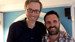 Image for Stephen Merchant joins Shaun in the studio