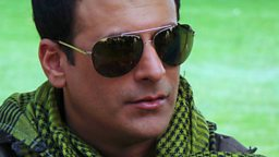 Image for Saima speaks to actor Shamoon Abbasi about Waar