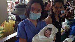Image for 'I delivered Typhoon Haiyan Baby'