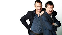 Image for Mark Radcliffe is joined by the comedian Mark Steel