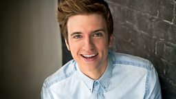 Image for Greg James wont be appearing in sequins anytime soon...