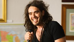 Image for Russell Brand; Costa Book Awards; Carrie