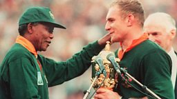 Image for South African Rugby Team Captain, 1993 - 1996: Francois Pienaar