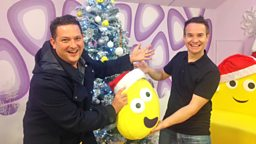Image for CBeebies presenter and music fanatic Alex Winters