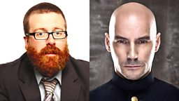 Image for Frankie Boyle talks to Grant Morrison