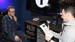 Image for Radio 1's Huw Stephens talks about being in Celebrity Mastermind